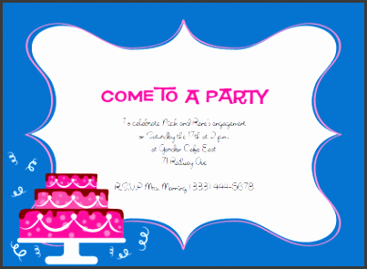 free party invitation template br5ad94c