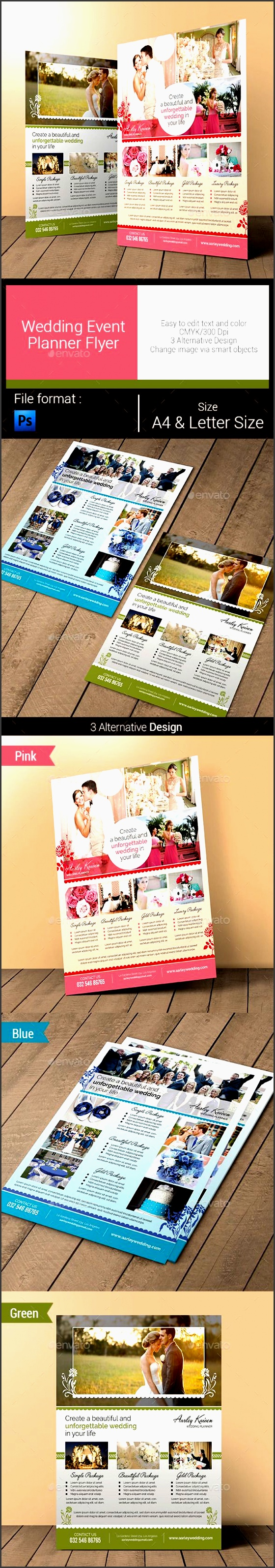wedding event planner flyer corporate flyers