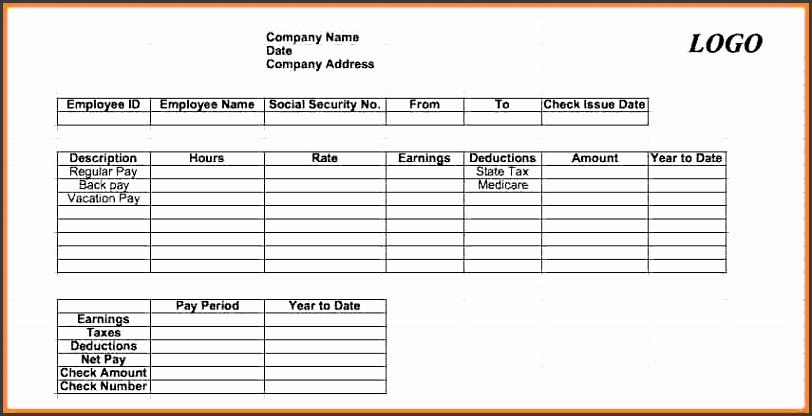 pay stub format in exceleck stub template 02