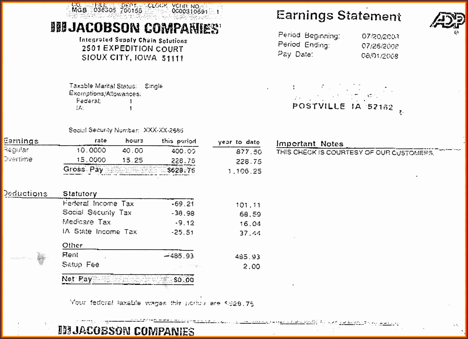 adp pay stub generatorp pay stub generator agriprocessors jacobson empty check