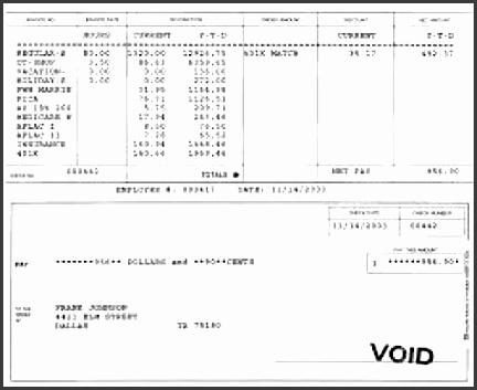 pay stub template 451