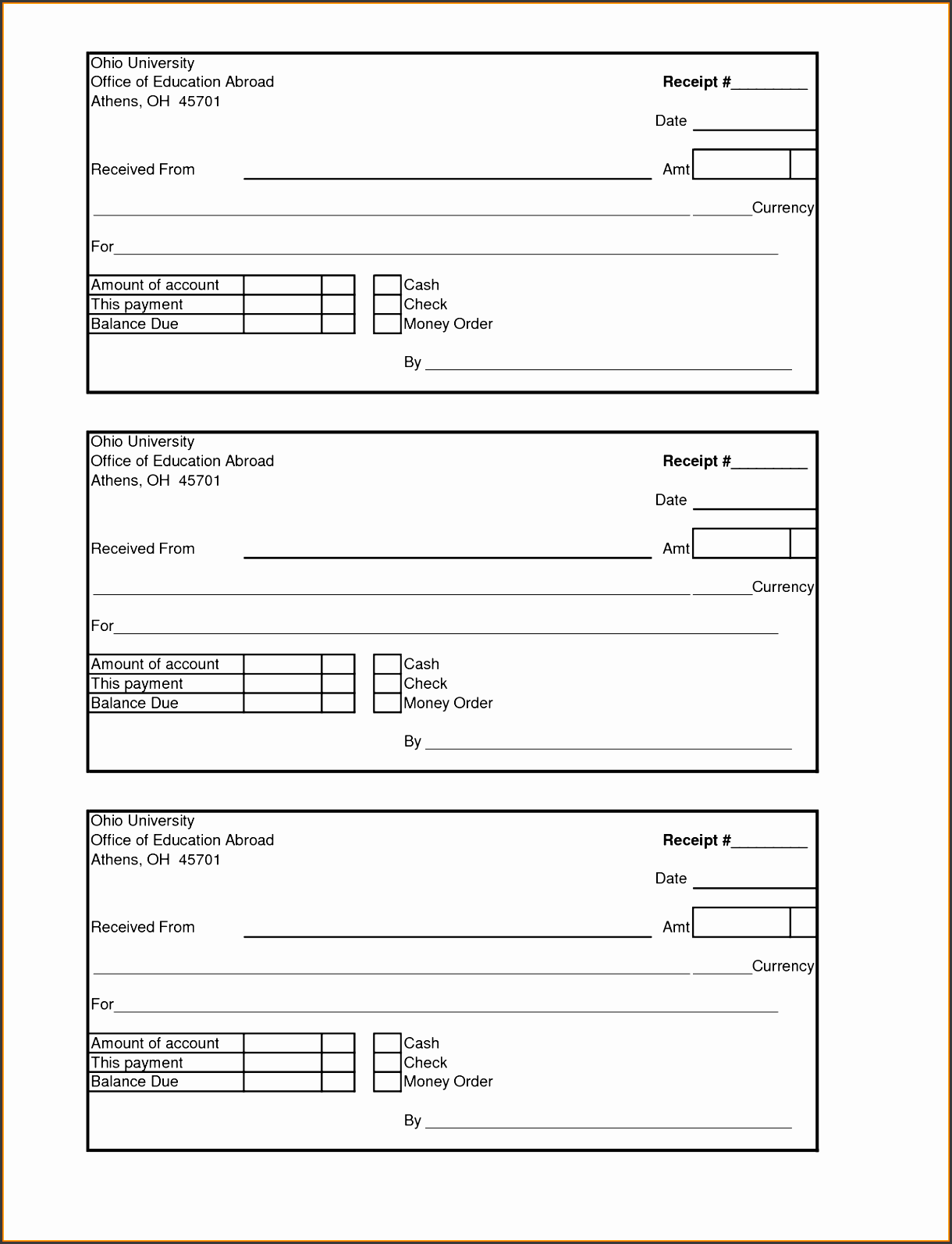 Expense Receipt Template Write Reflective Essay News Clerk Cover Payment  Receipt Design Fxszr Beautiful Expense Receipt  Expense Receipt Template