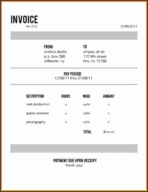 website design invoice template 912