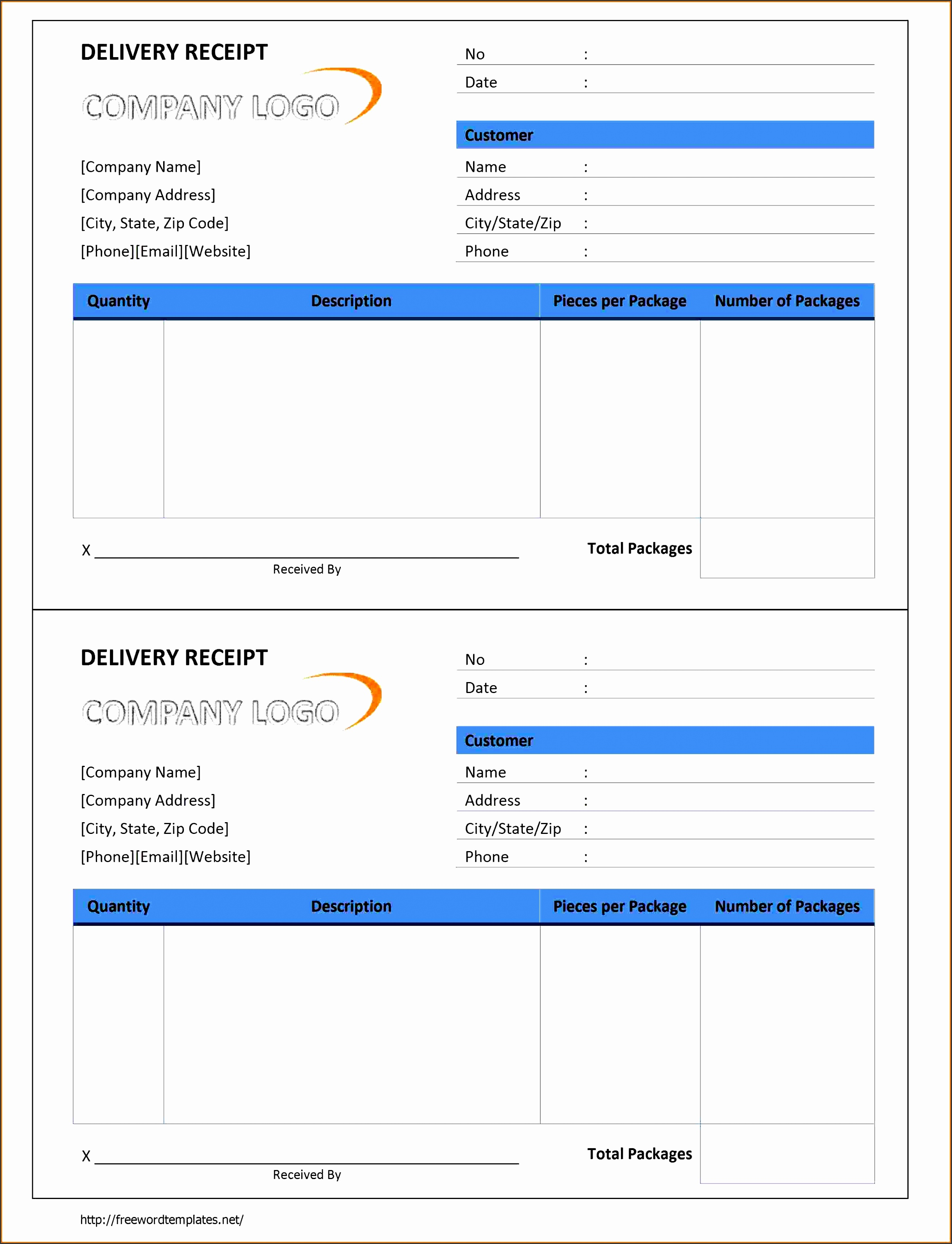 102 delivery receipt 791x1024 delivery receipt template
