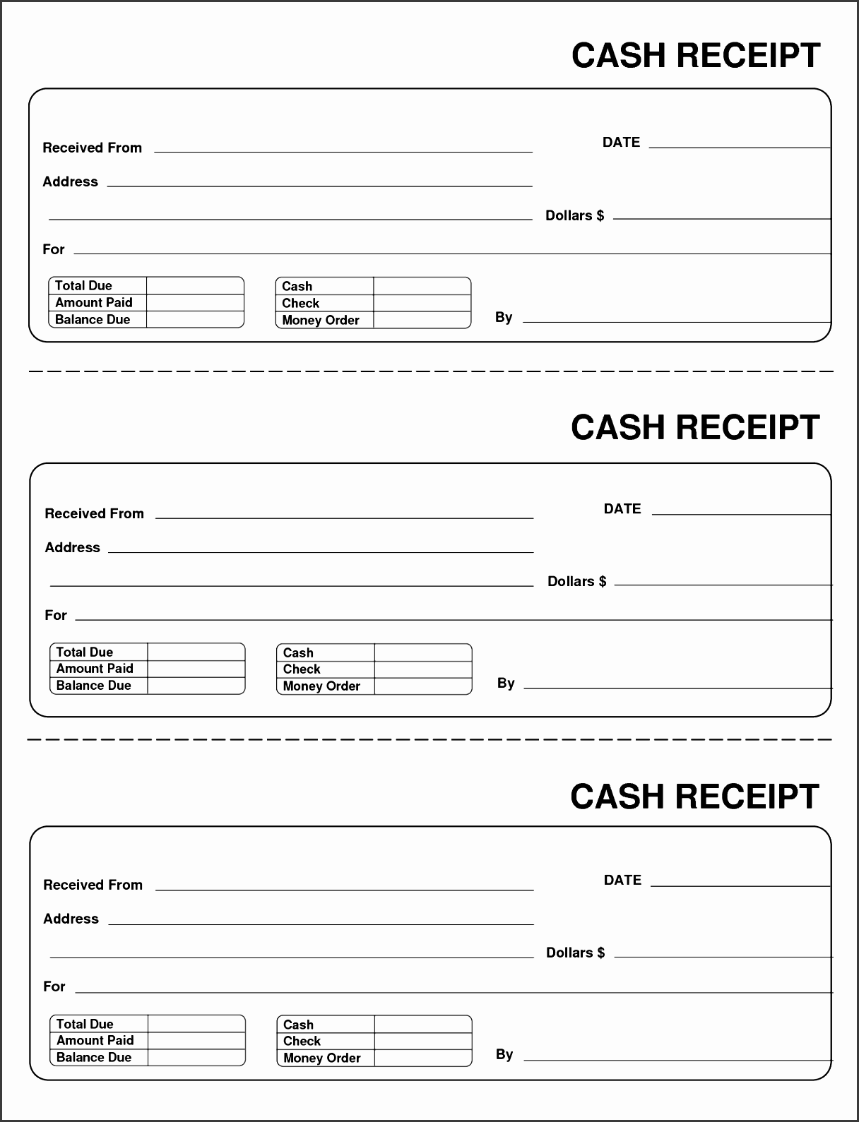 10 payment receipt template invoice doc 65