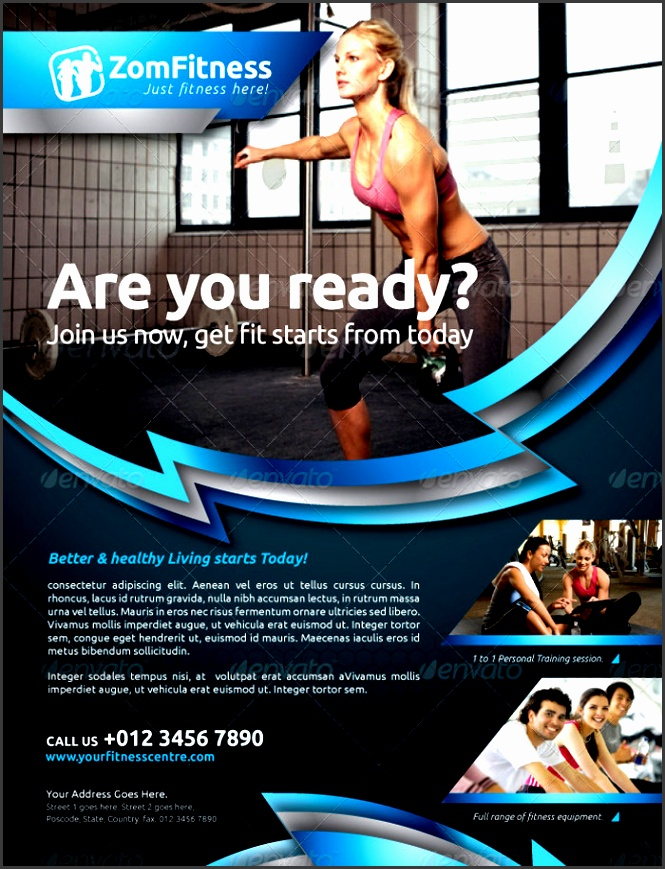 fitness flyer vol 6