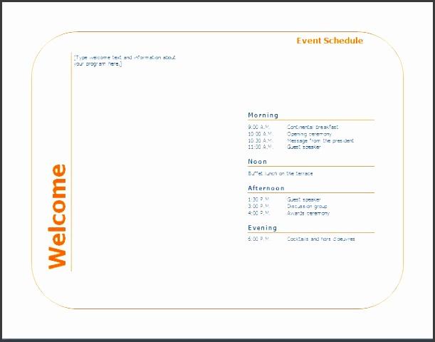 4 personal event program template sampletemplatess sampletemplatess. Black Bedroom Furniture Sets. Home Design Ideas