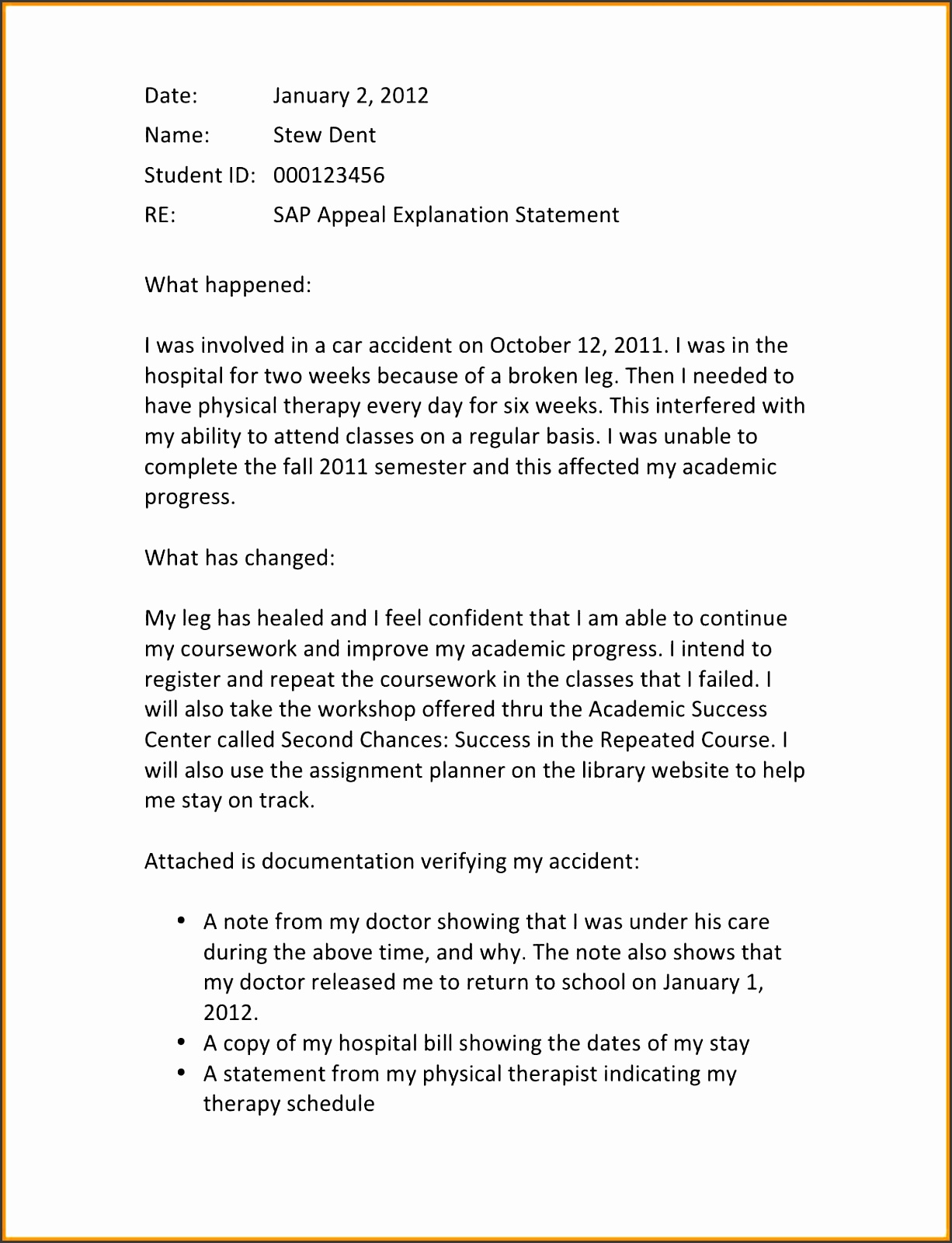 10 examples of petition letter