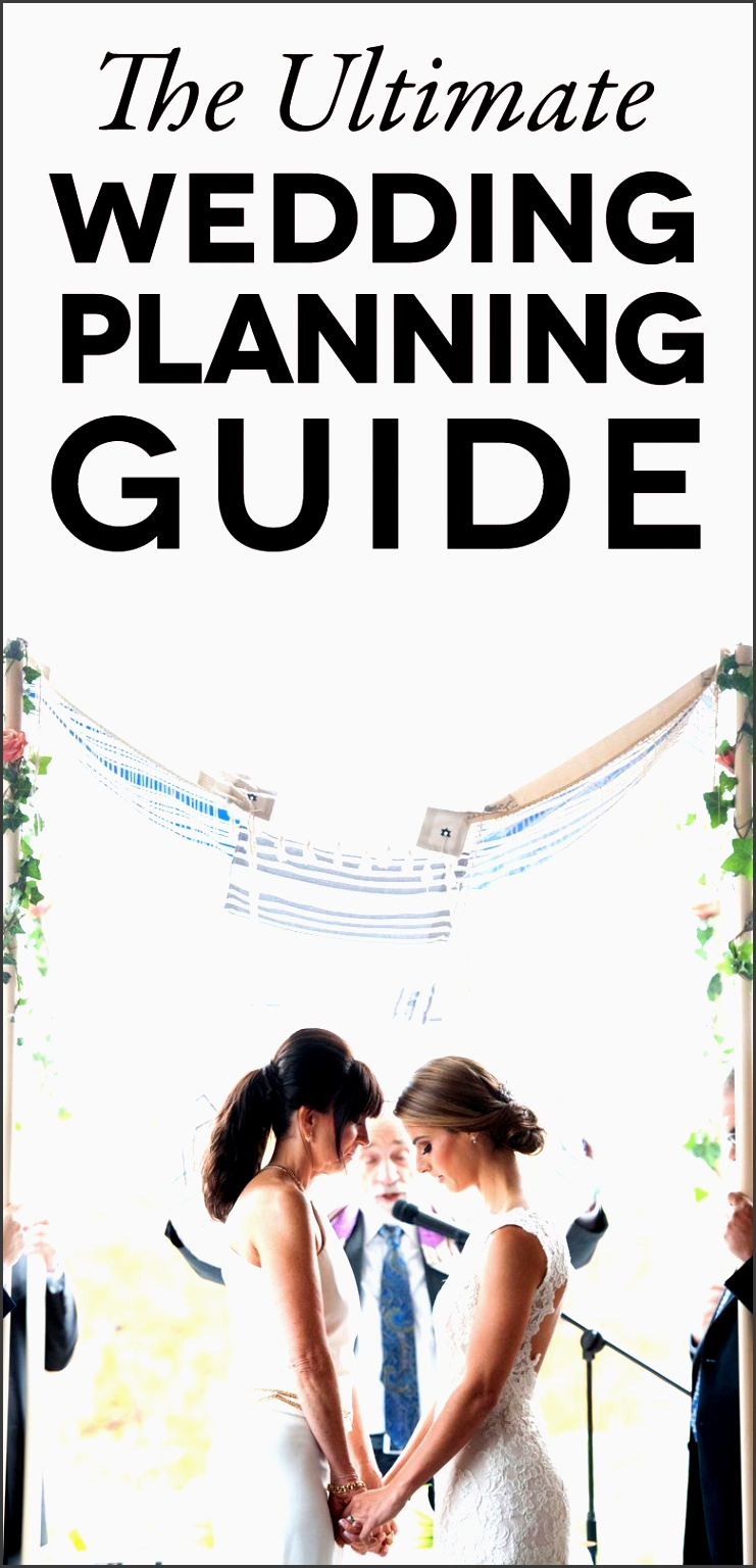 a wedding planning guide