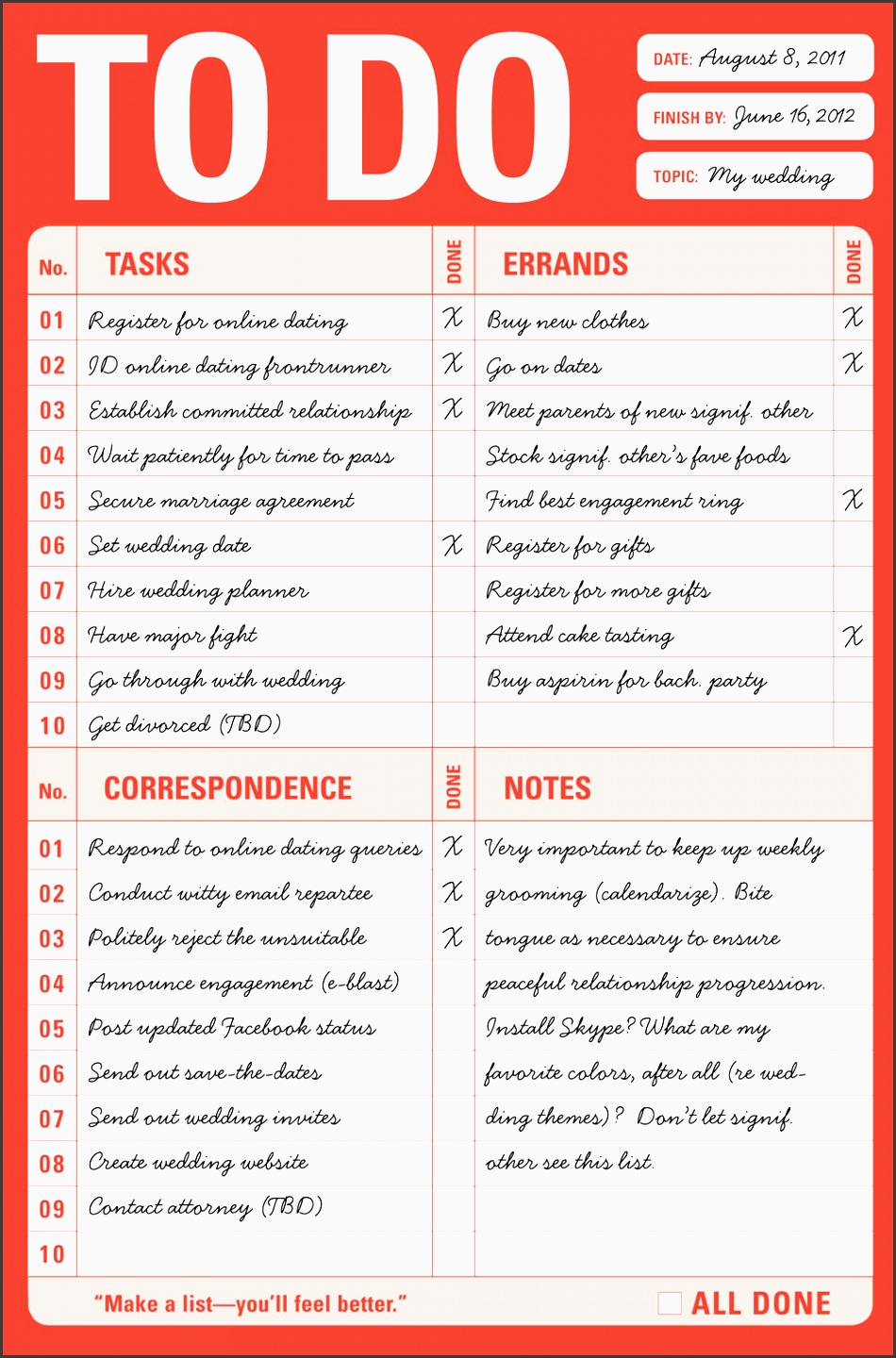 amazing of to do list for planning a wedding to do list wedding free to do