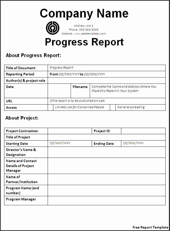 police report template free