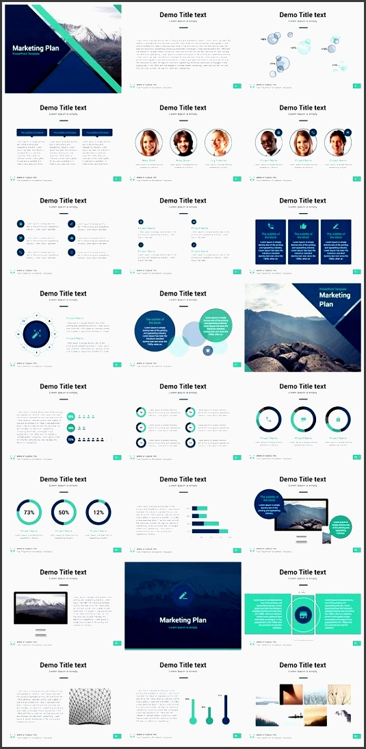 446 best powerpoint images on pinterest inside free powerpoint sample marketing plan presentation template pack