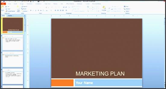 marketing plan powerpoint template marketing plan template for powerpoint presentations ideas