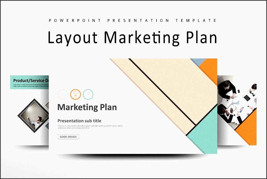 layout marketing plan strategy ppt presentation templates creative market