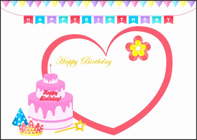 birthday card one