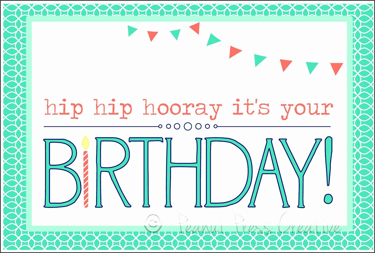 printable birthday card google search