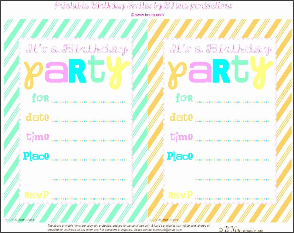 birthday party invitations printable to design your own birthday invitation in captivating styles