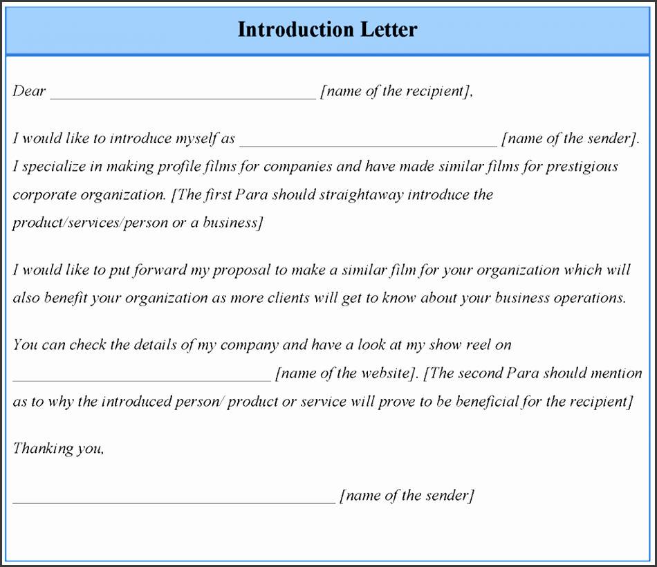 pany introduction letter to new printable cover sheet for fax format of introduction letter of a