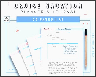cruise travel planner journal cruise planner with travel bud travel agenda and