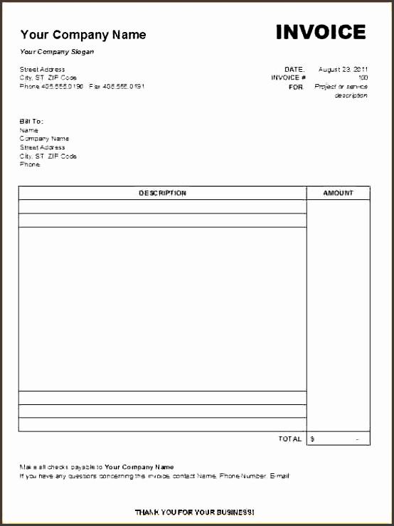 free printable contractor invoiceee printable blank invoice templates printable blank invoice templates vabgzw