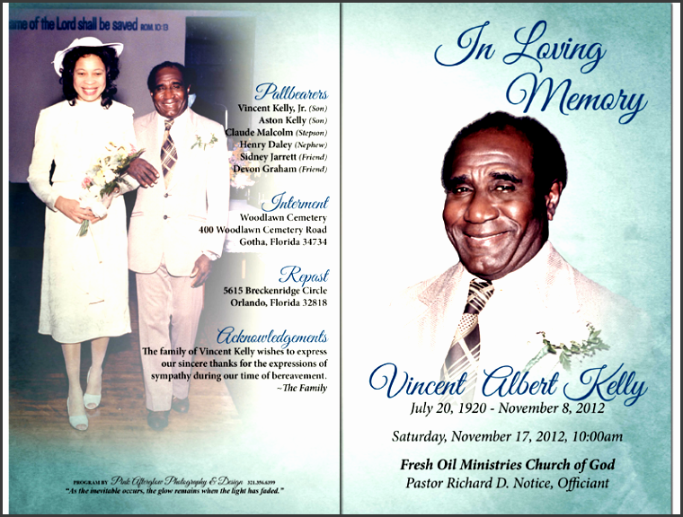 funeral templates funeral program templates funeral card with free printable funeral programs