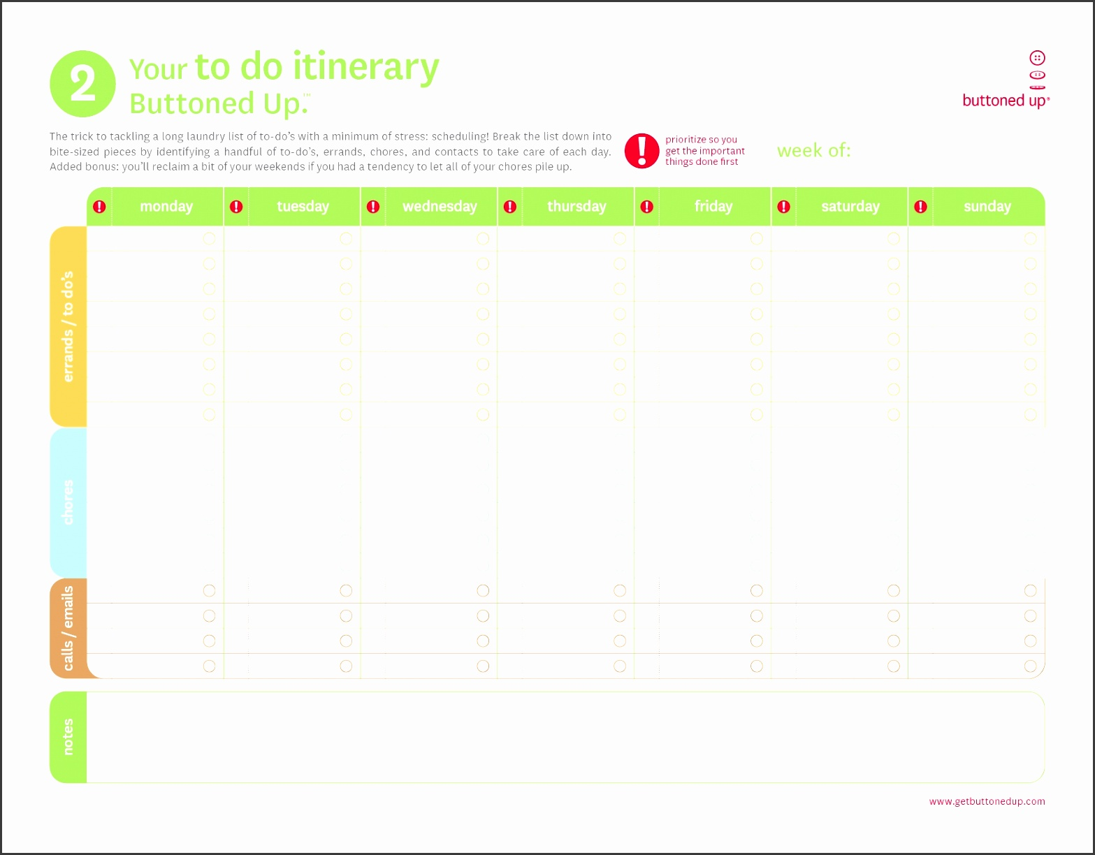 8 printable itinerary template