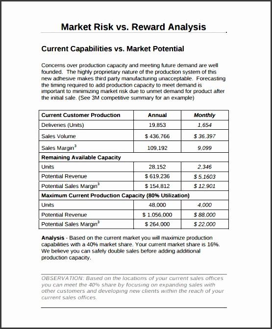 marketing report template pdf