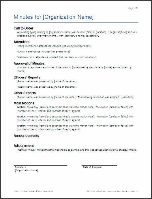 business meeting minutes template meeting minutes templates for word printable