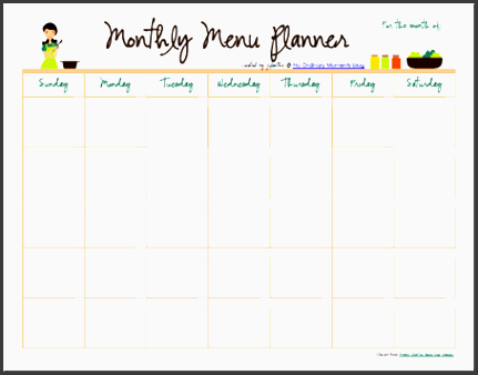 monthly meal plan calendar b6 d imgmax 800