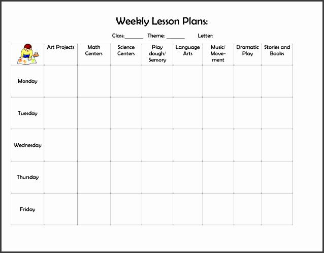printable lesson plan template calendar letter format outline doc weekly e lesson plan outline lesson plan