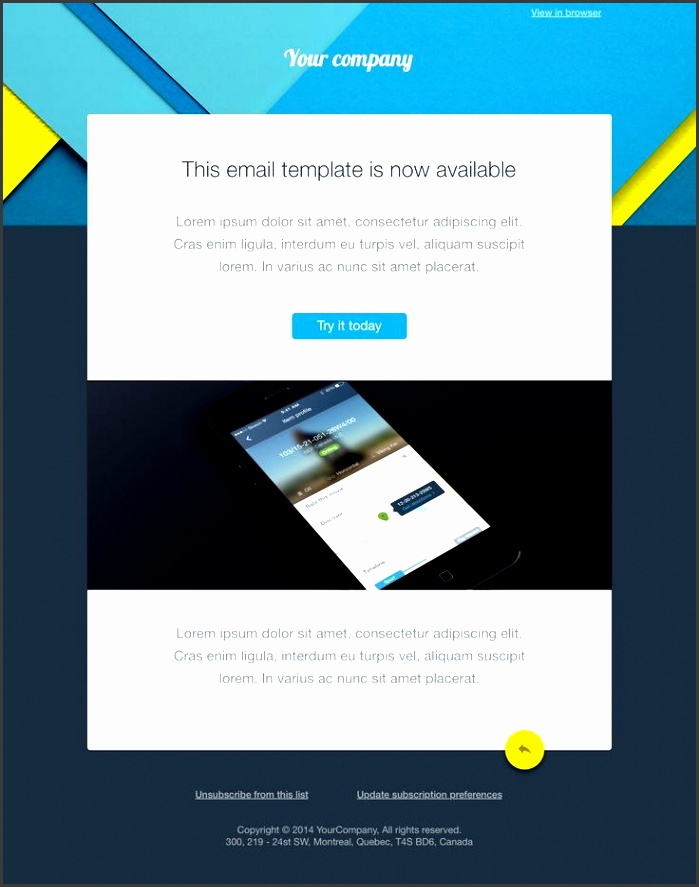 in this list we have collected over 15 awesome free email templates which could be e a great starting point for your new email newsletter design