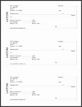 fillable cash receipt form openoffice template