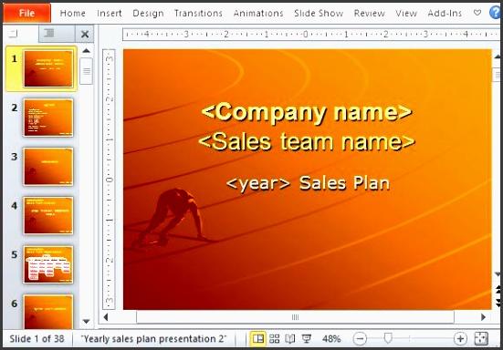 sales plan template image 2