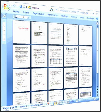 technical writing templates installation guide