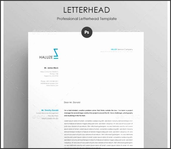 Professional Letterhead Format  OloschurchtpCom