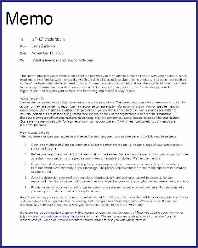 sample memorandumofessional memo template form