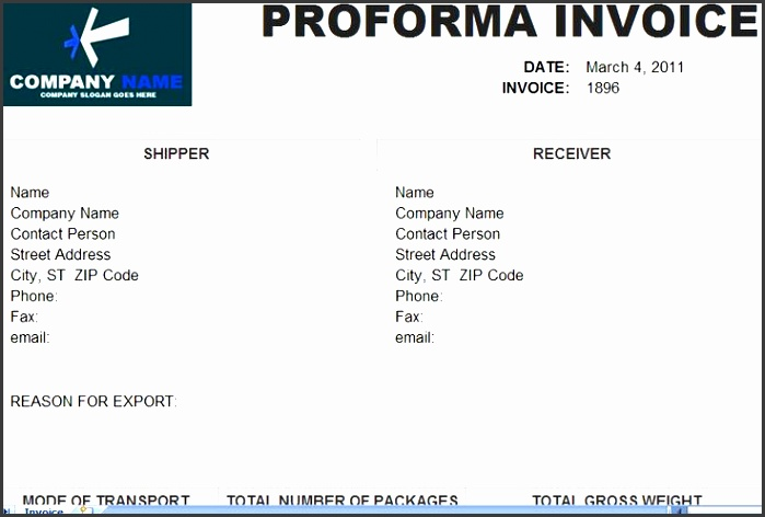 to proforma invoice template in excel format you can visit at our website proforma invoice template pinterest