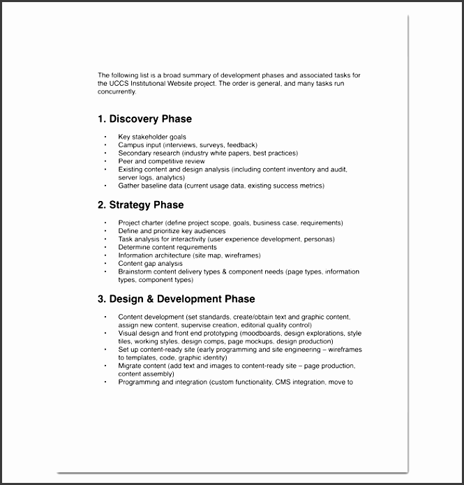 project outline template for pdf