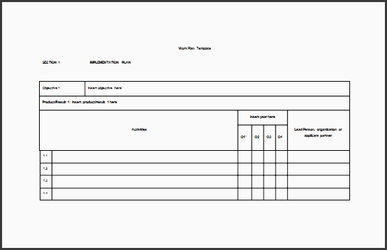 erp project plan template - 10 project plan in microsoft word sampletemplatess
