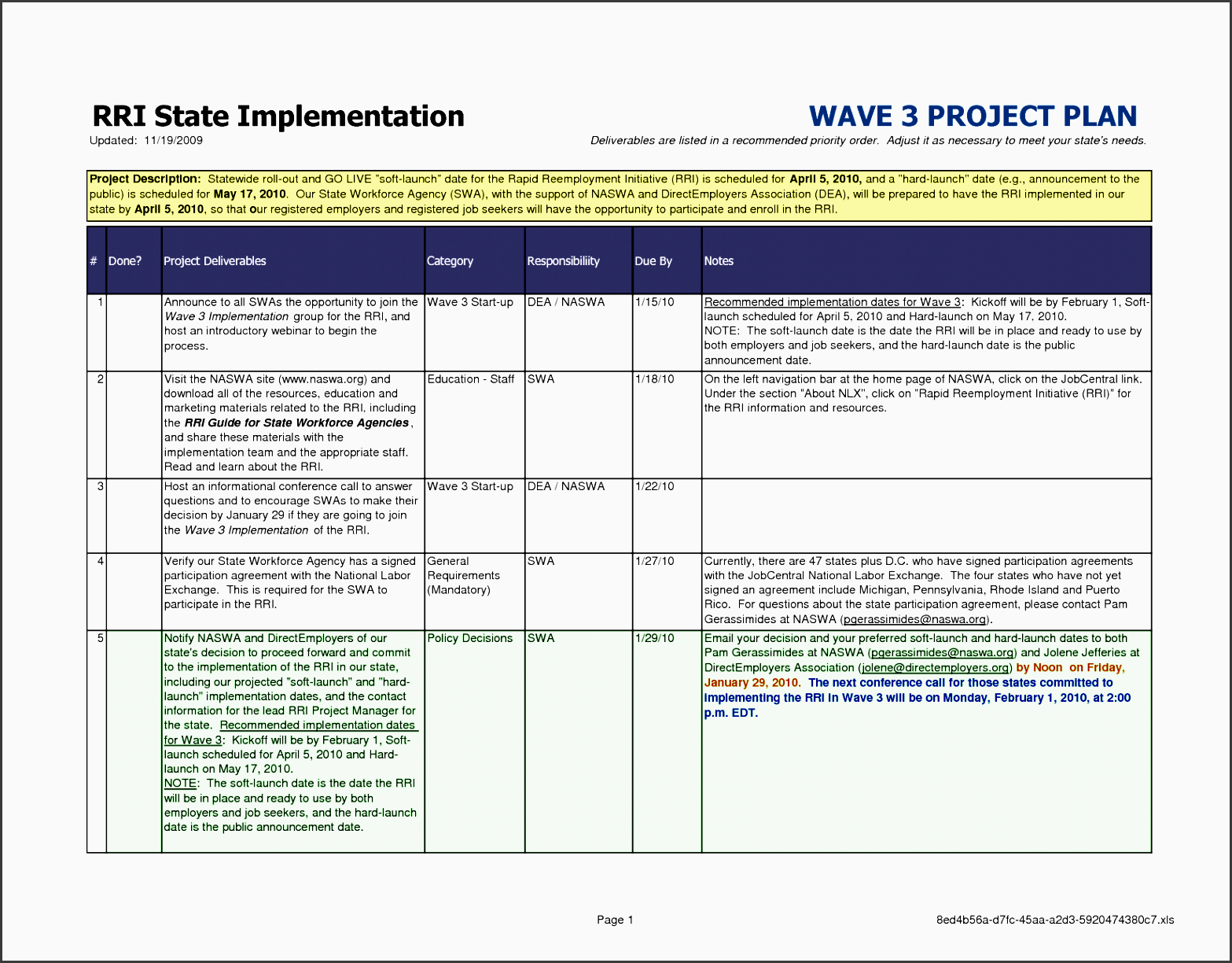 microsoft word project plan template