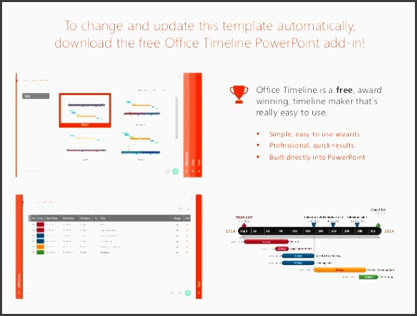 2 to change and update this template automatically the free office timeline powerpoint
