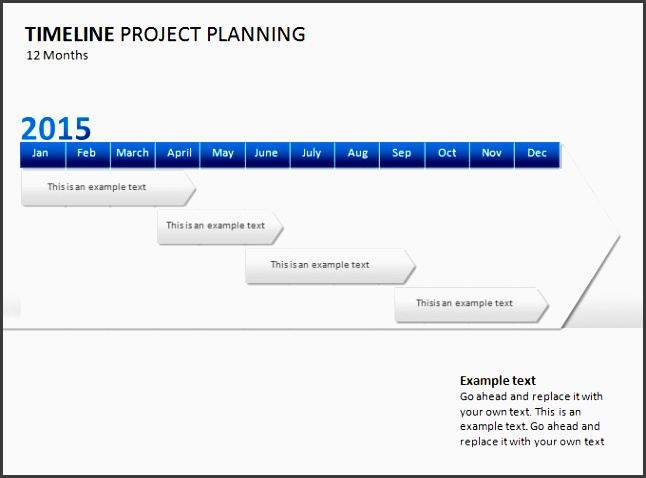 project management timeline template ppt