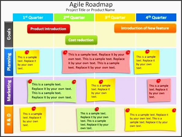 free agile powerpoint template scrum projects agile product development