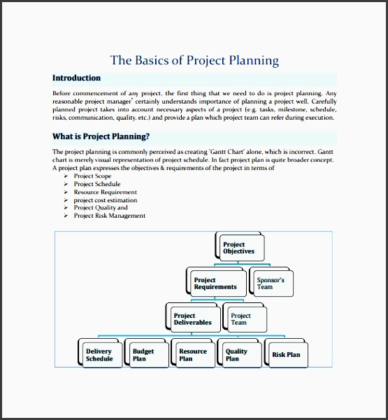 project plan template 12 free documents in pdf word