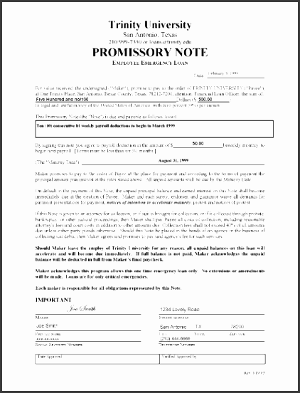 promissory note templates 1641