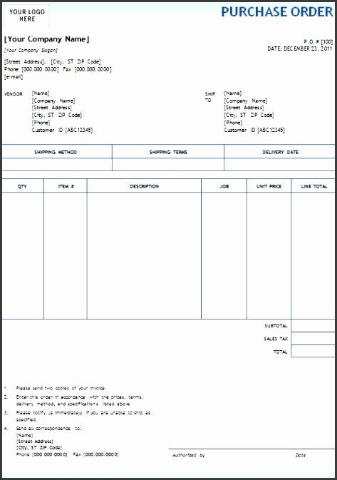 blue gra nt design purchase order