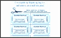 diaper raffle tickets ts on zazzle intended for diaper raffle tickets