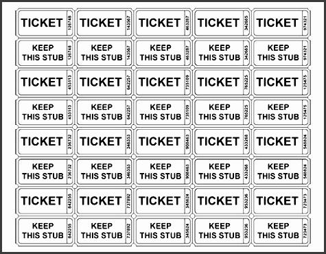 best 25 free raffle ticket template ideas on pinterest ticket template free free events for kids and raffle tickets