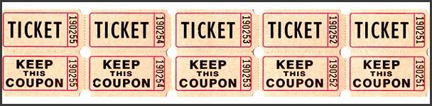 50 50 tickets
