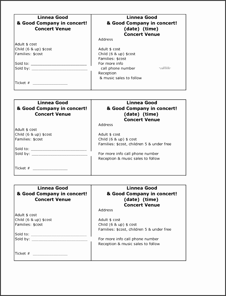 make your own tickets free printable create raffle or event tickets in microsoft word microsoft doesn t appear to provide a raffle tickets template and